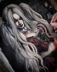 WIP Harley Quinn by EnysGuerrero