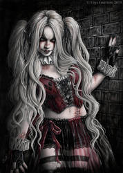 Harley Quinn by EnysGuerrero