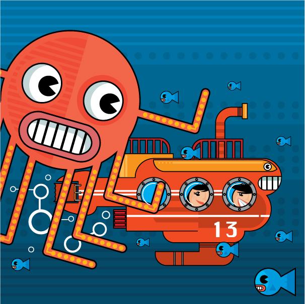 submarine by Helbetico