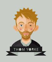Thom Yorke by Helbetico