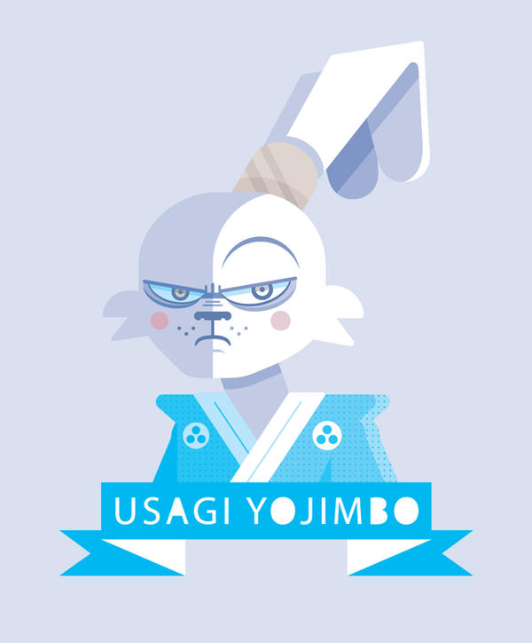 Usagi Yojimbo by Helbetico