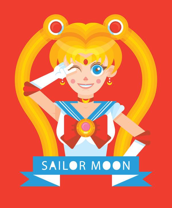 Sailor Moon by Helbetico
