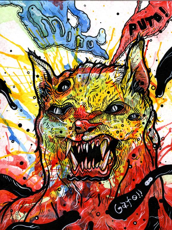 Gato Rojo - Helbetico