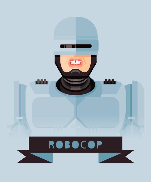 Robocop by Helbetico