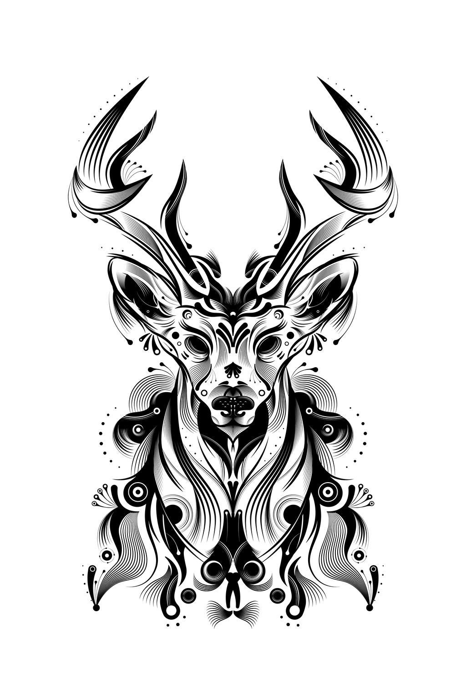 Deer Tutorial by Helbetico