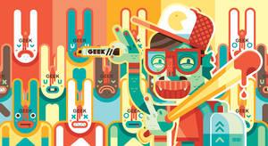 Mostro Geek by Helbetico