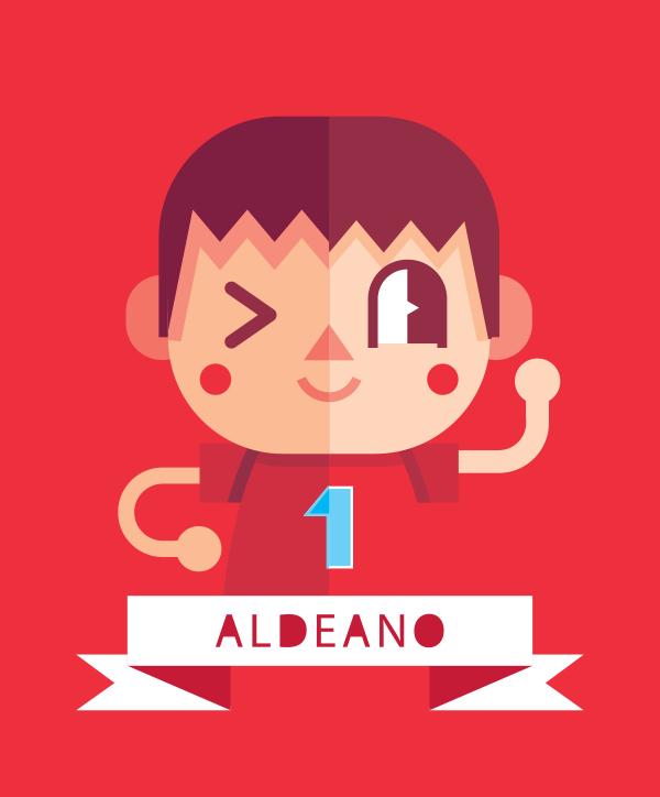 Aldeano by Helbetico