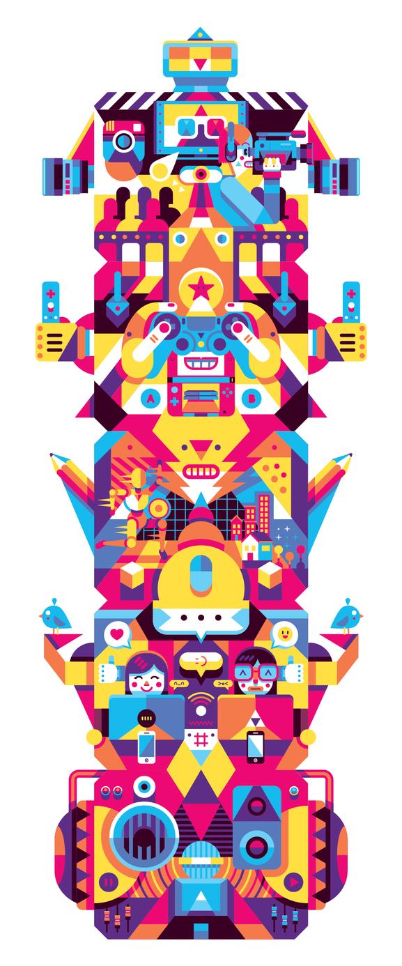 Living Digital by Helbetico
