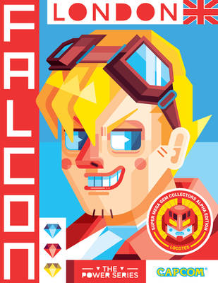 Power Series Card Falcon by Helbetico