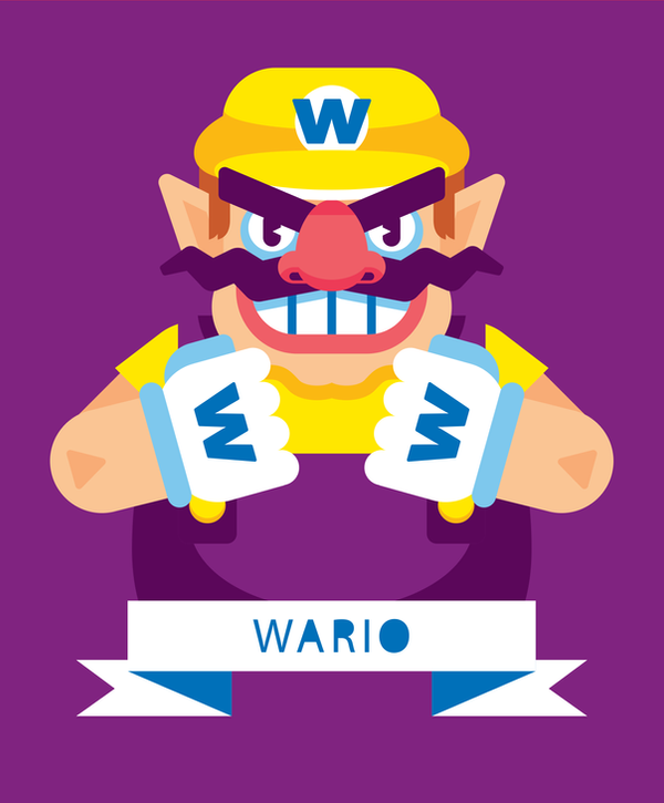 Wario by Helbetico