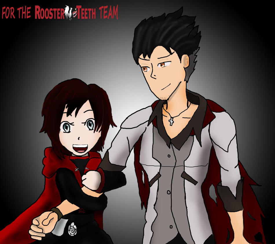 ruby and qrow by descolefan1 on deviantart. Black Bedroom Furniture Sets. Home Design Ideas