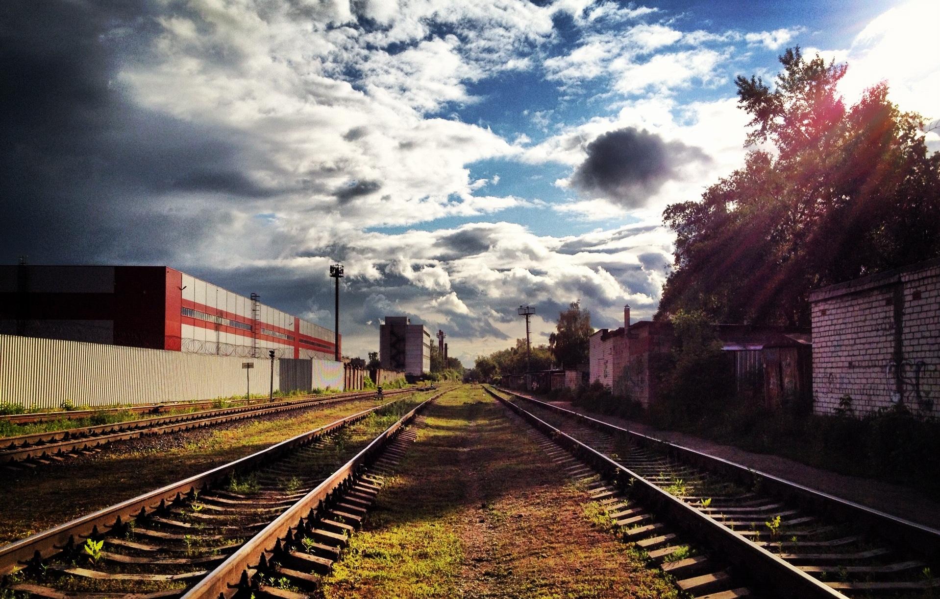 Industrial Landscape By Leshkaoo