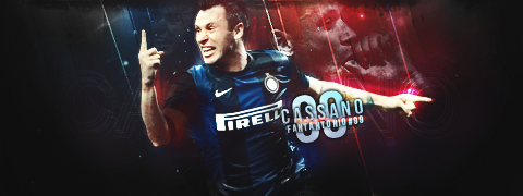 Antonio Cassano by RaffosSG