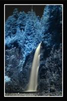 Franklin Falls - Infrared by La-Vita-a-Bella