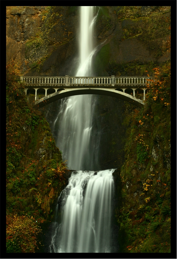 Bridge over the Falls by La-Vita-a-Bella