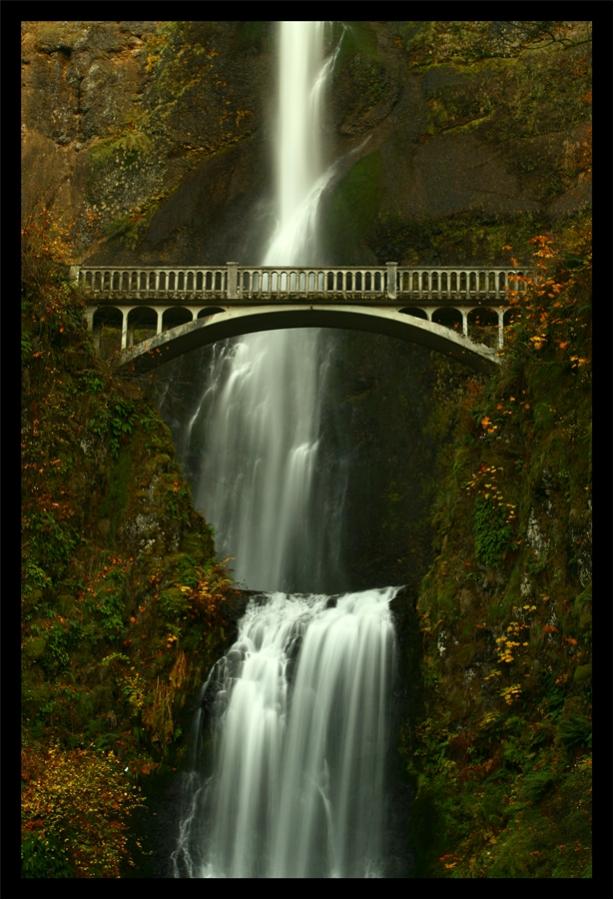 Bridge over the Falls by La-Vita-a-Bella