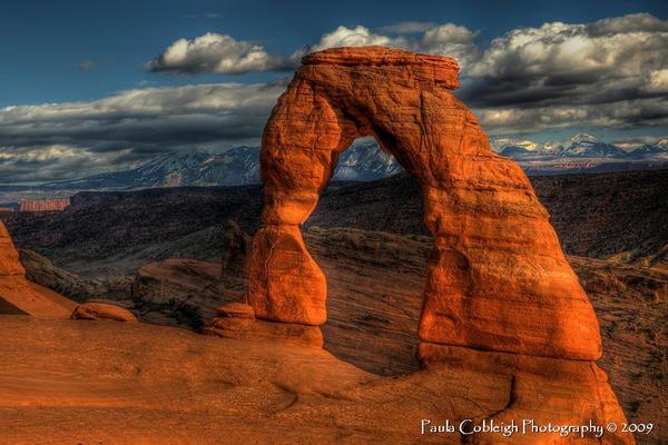 Delicate Arch by La-Vita-a-Bella