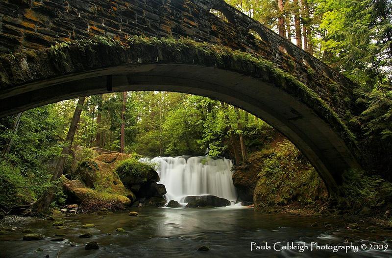 Whatcom Falls by La-Vita-a-Bella