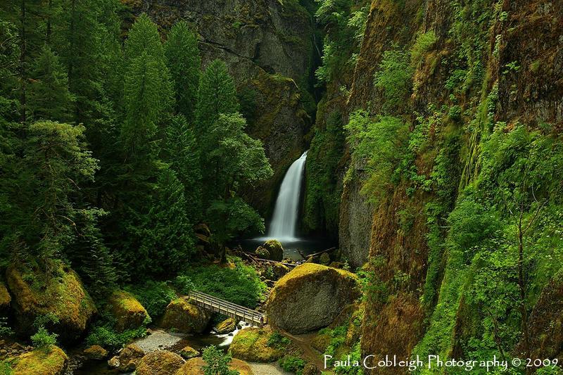 Wahclella Falls revisited by La-Vita-a-Bella