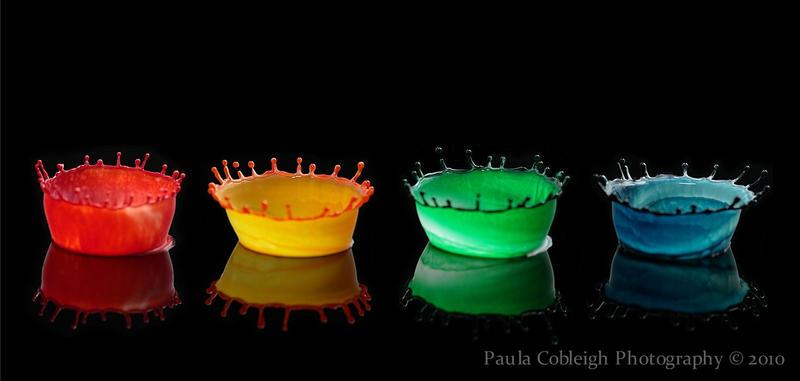 Rainbow Milk Splash by La-Vita-a-Bella