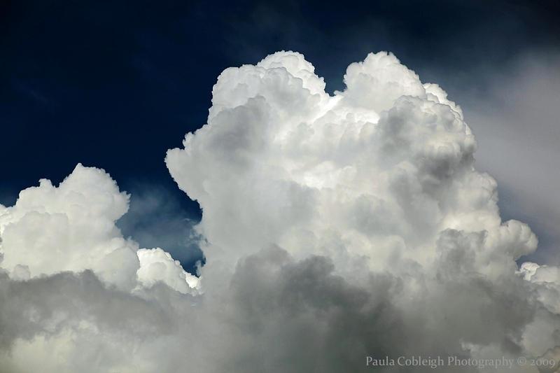 Cumulous Clouds by La-Vita-a-Bella