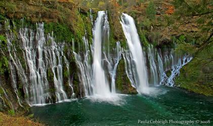 Waterfall - Burney Falls