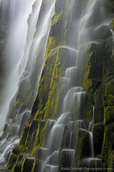 Waterfall - Mossy Cascades by La-Vita-a-Bella
