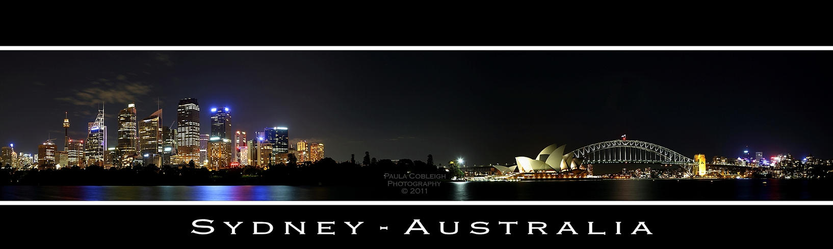 Sydney Skyline by La-Vita-a-Bella