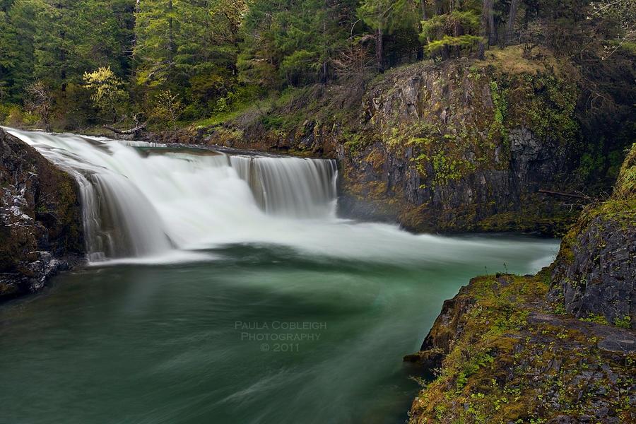 Steamboat Falls by La-Vita-a-Bella