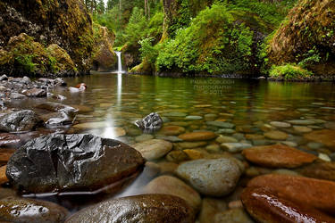 Waterfall - : : : Punchbowl Falls : : : by La-Vita-a-Bella