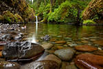 Waterfall - : : : Punchbowl Falls : : :
