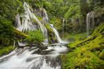 Waterfall - Panther Creek Falls by La-Vita-a-Bella