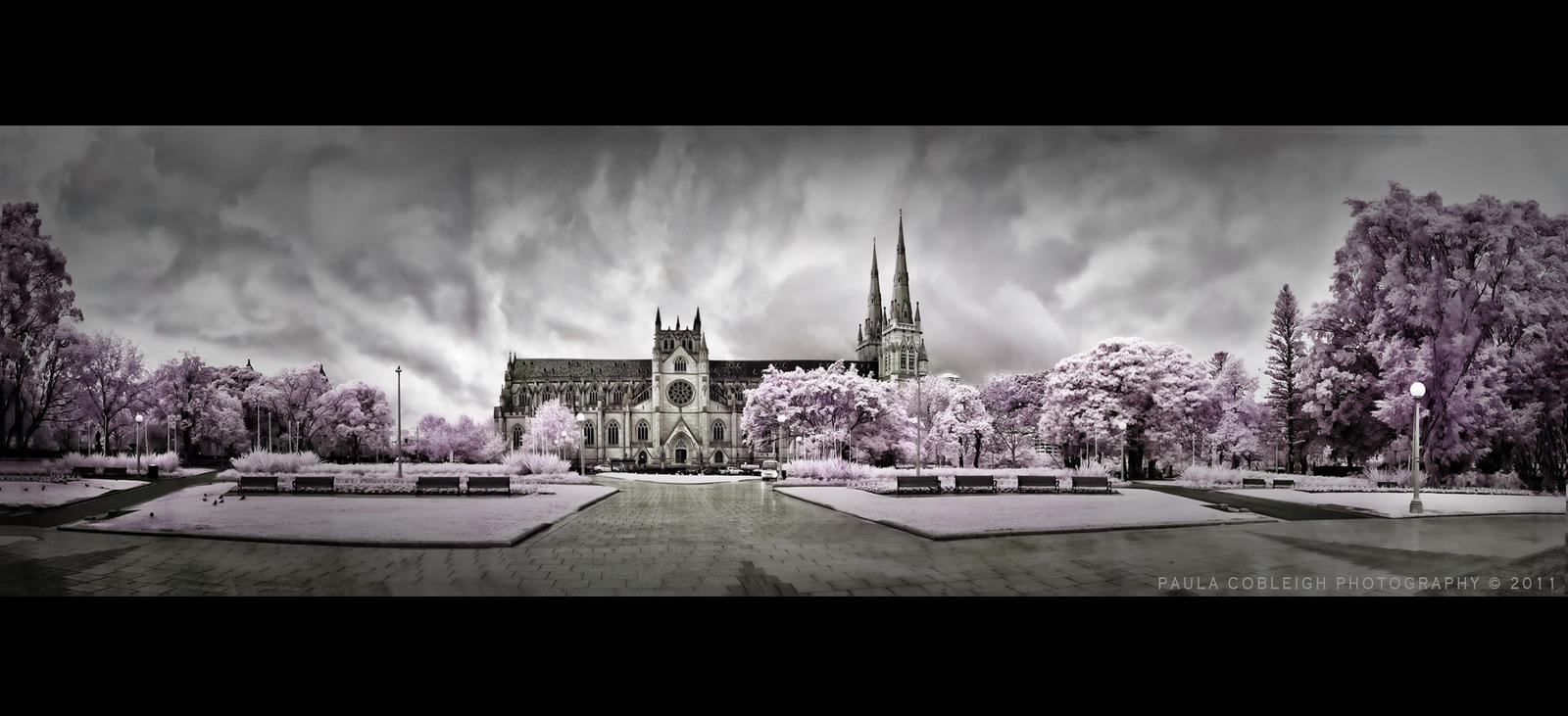 Infrared-St Mary's Cathedral