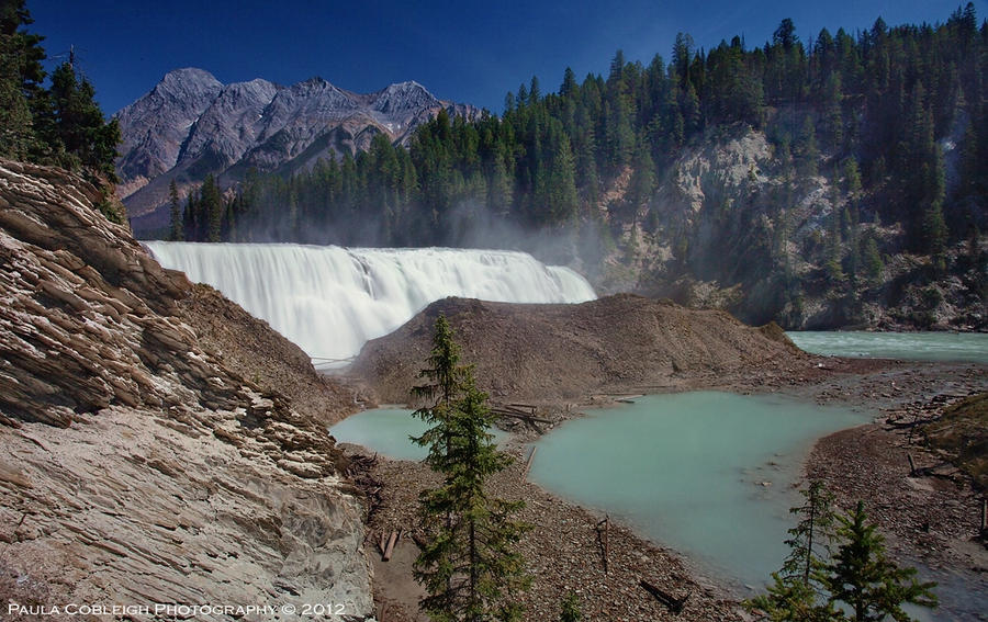 Wapta Falls by La-Vita-a-Bella