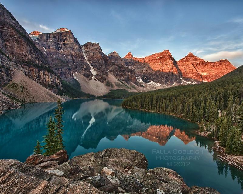 Moraine Lake by La-Vita-a-Bella
