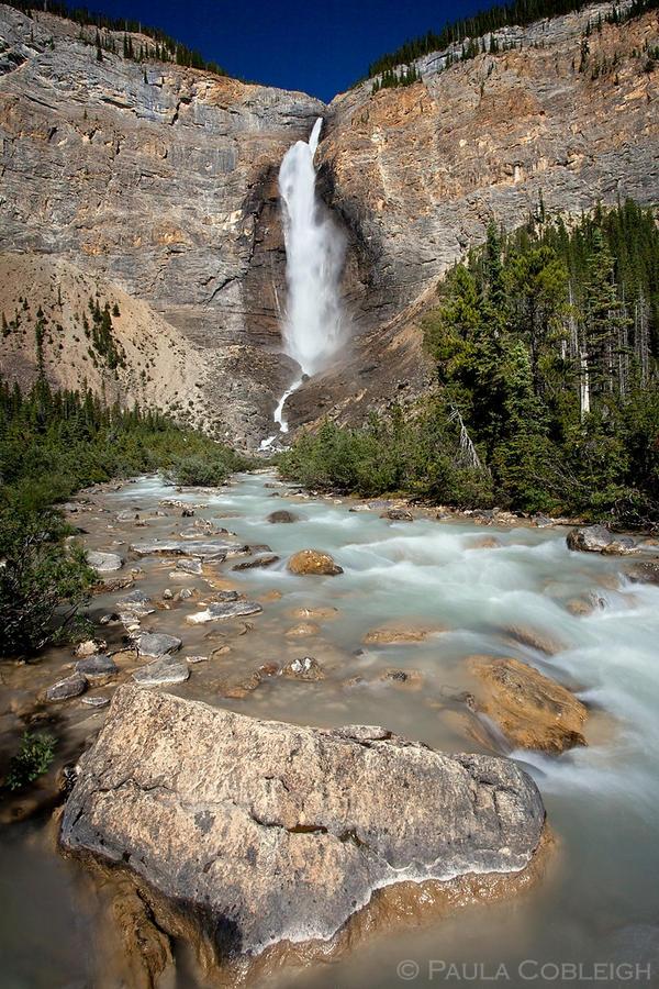 Takakkaw Falls by La-Vita-a-Bella