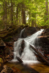Upper Cedar Hollow Falls