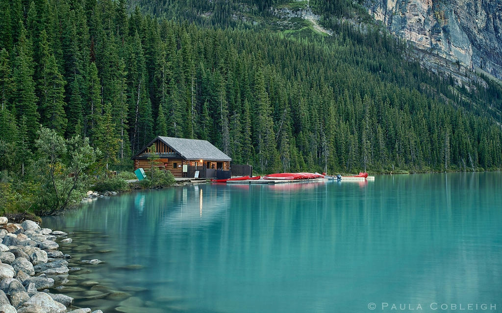 Lake Louise The Boat House By La Vita A Bella On Deviantart