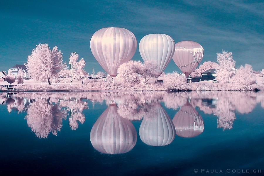 Infrared Hot Air Balloons