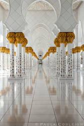 Mosque Columns by La-Vita-a-Bella