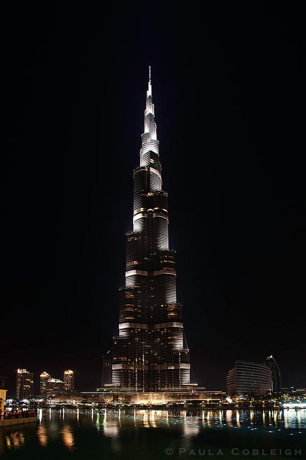 The Burj Khalifa by La-Vita-a-Bella