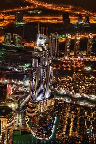 The View from the Burj Khalifa by La-Vita-a-Bella