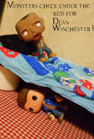 Monsters check under the bed... by MistressVampyr