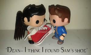 Sam's shoe. by MistressVampyr
