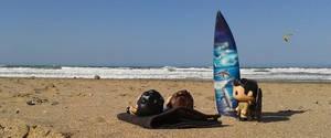 Day at the beach pt 1. by MistressVampyr