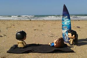 Day at the beach pt 2. by MistressVampyr
