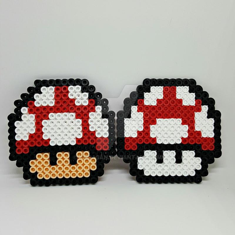 Mario Shrooms by Keirasan