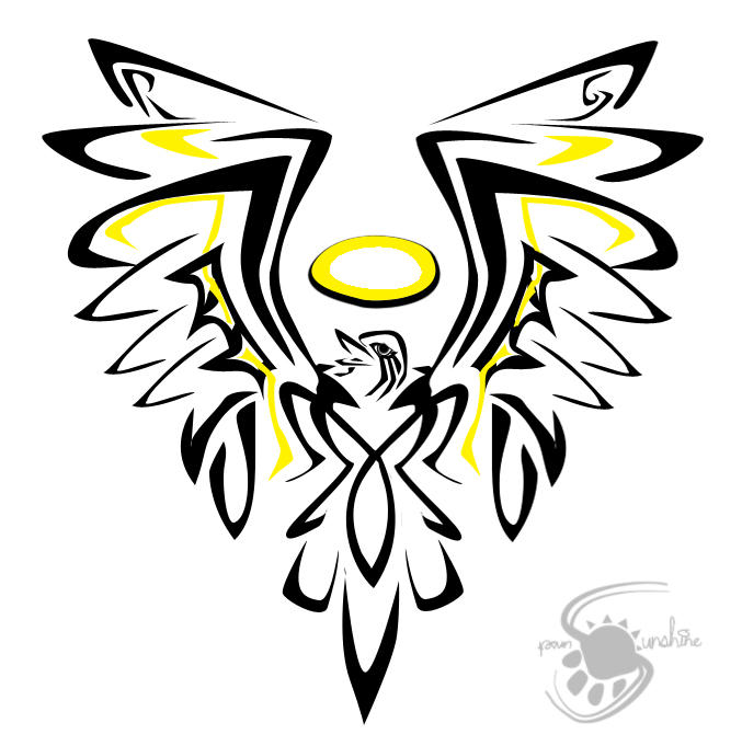 tattoo design a by sunshine