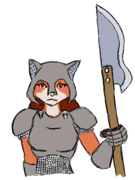 Vixen Guard by DaffydWagstaff