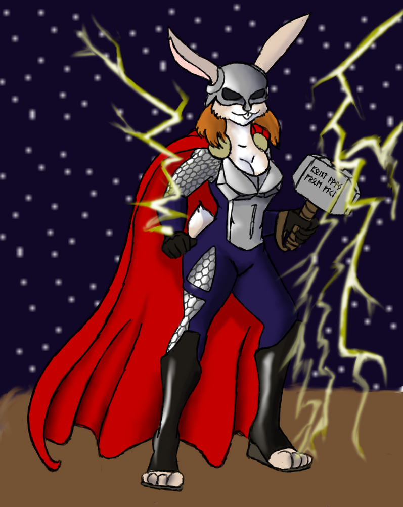 Teeg: Bun Of Thunder by DaffydWagstaff